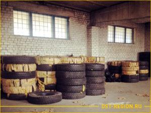 Шины для погрузчиков на складе в Красноярске