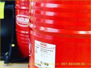 Железная бочка масла для спецтехники