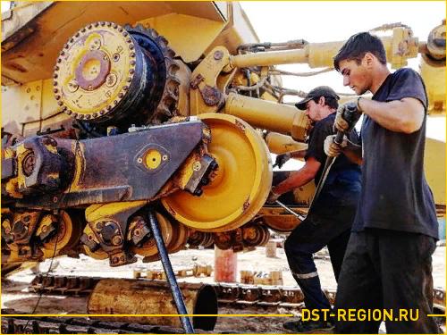Ремонт ходовой части экскаватора