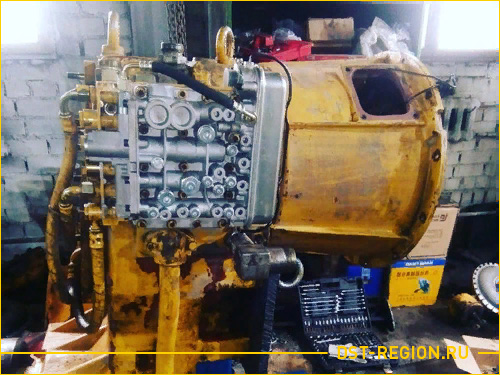 Ремонт ГМП 4WG-200 Liugong CLG 856